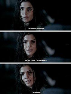 "#The100 3x11 ""Nevermore"" - Octavia"