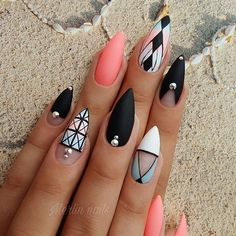 #gel #gelnails #nail #nails #nailstagram #nailsofinstagram #notpolish #manicure #artnails #fashionnails #nailart #nailswag #instanails #nailporn #noktici #matt #fashion #nokti #nokta #pointynails #mattnails