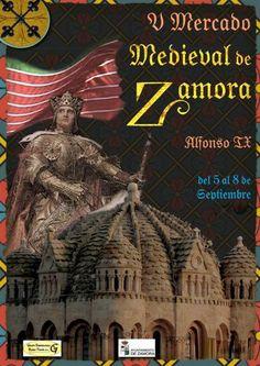 V Mercado Medieval de Zamora, del 5 al 8 de septiembre de 2014