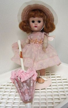 vintage ginny doll | Vintage 1955 MLW Vogue Ginny Doll