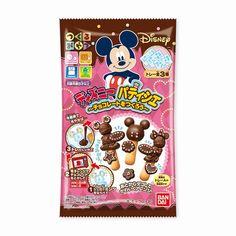 """ミッキーマウスたちのチョコレート菓子が自分で作れる! 子どもの想像力をのばす""""つくるおやつ""""新作が登場"""