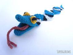 Amigurumi Snake Bookmark Crochet Pattern