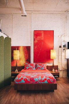 Make it Modern: The Clean Crisp Streamlined Bed