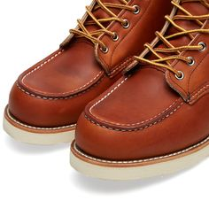 """Red Wing 875 Heritage Work 6"""" Moc Toe Boot (Oro-Legacy)"""