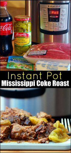 Instant Pot Mississippi Coke Roast | Aunt Bee's Recipes  *Can be made Gluten Free with gf gravy packet.