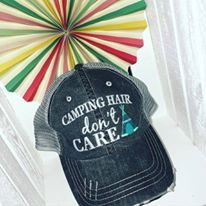 Hats {Camping hair don't care} 5 color choices!