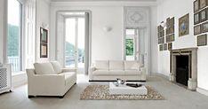 White interiors - luxury style.