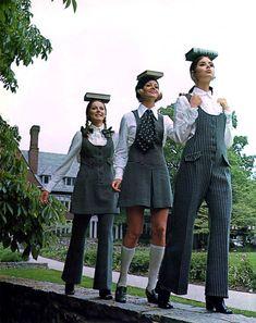 Mod Fashion, 1960s Fashion, School Fashion, Teen Fashion, Fashion Models, Vintage Fashion, Gothic Fashion, 1960s Outfits, Vintage Outfits
