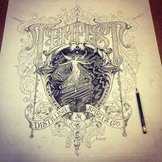 Typeverything.com - Tempest by @davesmithartist.
