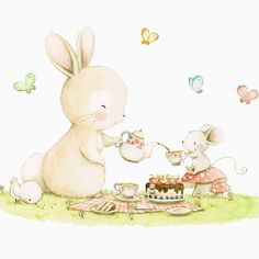 El conejito y el ratón, han preparado un picnic super especial...apetece acompañarlos! Verdad?? #childrensillustration #mouse #watercolor #watercolorpainting #illustration #watercolour #myartwork #bunny #myart #butterflies #aidazamora #tealover #watercolour_gallery #acuarela #childrensbook #art #drawing #handpainted #cake #childrenillustration #ilustracioninfantil #picnic #draw #artgram #cute #illustratenow #art_we_inspire #artoftheday #childrenswritersguild #illustrationartists
