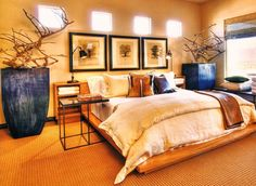 African Home Decor Catalog. African home decor gets its inspiration through nature. African Themed Living Room, African Living Rooms, Living Room Themes, Bedroom Themes, Living Room Designs, Bedroom Ideas, Bedrooms, Design Bedroom, Safari Theme Bedroom