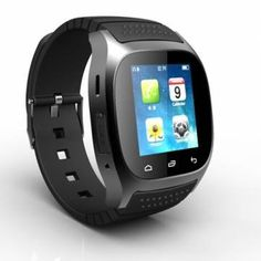 """Smart Watch R-Watch Bluetooth M26 SMS Pedometer Anti Lost Phone Watch/ Black. R-Watch Bluetooth M26 SMS Pedometer Anti Lost 1.4"""" Men Phone Watch. Value. Waranty 100%. Pls choose as you like, thank you. Scroll Down To Specification."""