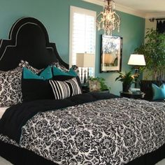 love this theme for a room. Dorm ideas!