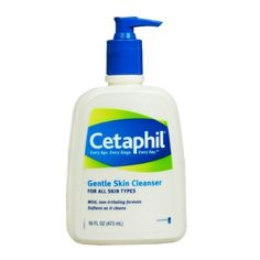 Cetaphil Gentle Skin Cleanser  For all skin types  16-Ounce Bottles (Pack of 2): http://www.amazon.com/Cetaphil-Gentle-Cleanser-16-Ounce-Bottles/dp/B001ET76EY/?tag=exotbalihan00-20