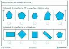 Ficha de elegir la forma correcta para primaria