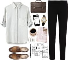 """Let's be work colleagues :)"" by jocelynjasso2005 on Polyvore"