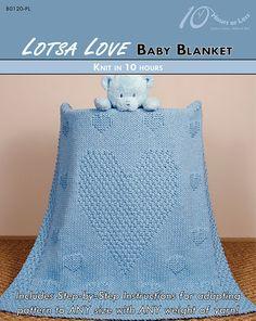 LOTSA LOVE Baby Blanket - 10 Hours or Less
