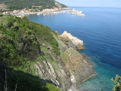 Marciana Marina: the North side of the Elba island