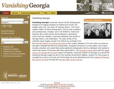 Vanishing Georgia - comprises nearly 18,000 photographs. Ranging from daguerreotypes to Kodachrome prints, the images span over 100 years of Georgia history. 'http://dlg.galileo.usg.edu/vanga/?Welcome' snapped on Snapito!