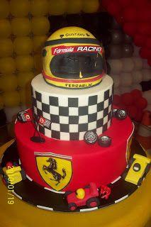 Verônica Fellippe Cake Designer: Fórmula 1