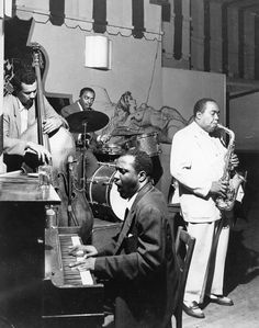 September 13, 1953. Many say it's the greatest night in the history of jazz. Charlie Parker, Thelonious Monk, Charles Mingus and Roy Hayners onstage together.