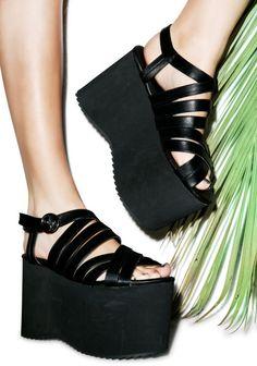platform sandals  punk nu goth pastel goth tropigoth grunge fachin sandals platforms flatforms plus size shoes shoes plus dollskill