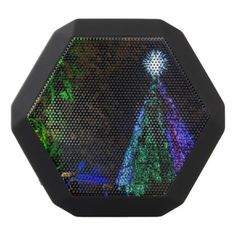 5 Story Sdc Tree Night Black Bluetooth Speaker - light gifts template style unique special diy