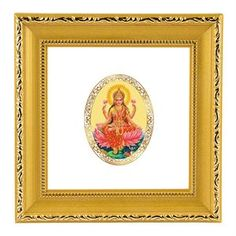 The royal wall hanging in this fine color and make with the image of Goddess Lakshmi. The goddess is a symbol of wealth and prosperity. Having her blessings around is one great blessing. link: http://diviniti.co.in/en/lakshmi-mata-10