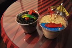 dirt and sand cups recipe