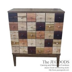 » Twenty Pop Chest of Drawers - Rustic Furniture in Pop Art Style.  We produce & supply #rusticfurniture style made of teak & mindi wood. Best traditional handmade construction with high quality artisan made at affordable price. http://jeparagoods.com