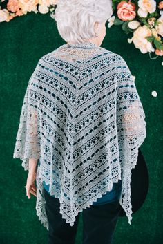 Dew Drops Shawl - I Like Crochet