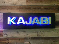 Laser engraved acrylic edge lit led sign - Szukaj w Google