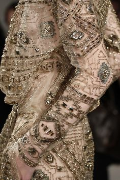 Emilio Pucci fall 2014 rtw. Source: girlannachronism Love some of the beading patterns.