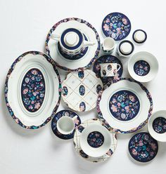 Liberty for Anthropologie Mabelle Floral Dinner Plate | Shop Anthropologie Home