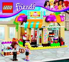 20 Best Lego Instruction Booklets Images Lego Friends Lego