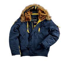 Produktbeschreibung:      - Alpha Industries Kapuzenblouson PPS N2B Jacke aus 2Tone Nylon     - Warm gefütterte Jacke für die kalte Jahreszeit     - Abnehmbarer synthetischer Fellkragen     - Mit Reißverschluss teilbare Kapuze     Passform & Größenlauf:      - Normale Passfom - (SF - Standard Fit)     - Erhältlich in den Größen: S - 3XL        Material & Pflege:      - Oberstoff: 100 % Nyl...