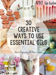 30 Creative Ways to Use Essential Oils