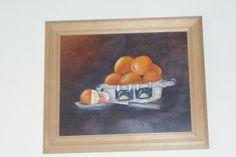Naranjas Oleos 20x30 vendido