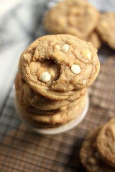 Brown Sugar White Chocolate Walnut Cookies