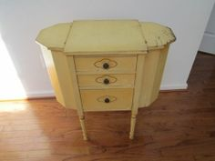 Vintage 3 Drawer Martha Washington Sewing Cabinet   eBay