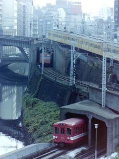 IN - 1983年の御茶ノ水 Ochanomizu, Tokyo in 1983