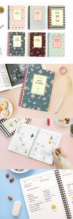 Can't help falling in love with this lovely retro planner! It's dateless & ultra personalizable so I can truly make it my own.