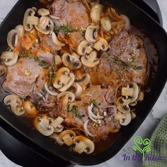Electric skillet pork chops are the answer. Well-seasoned pork chops covered in a flavorful gravy served over rice. Skillet Pork Chops, Fried Pork Chops, Salad Master Recipes, Electric Skillet Recipes, Easy Skillet Meals, How To Cook Pork, Pork Chop Recipes, One Pot Meals, Cooking Recipes