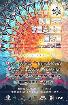 c37e3389a HillTop Goa New Years eve Festival 2016 - 2017 - The
