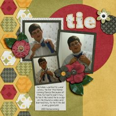 Tie Kit: Roar by Designs by Connie Prince Template: Designs by Connie Prince Journaling font: KG Payphone