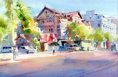 Watercolour Paintings by Milind Mulick on Behance