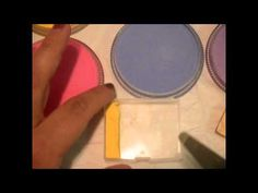 How to make your own split cakes for face painting - YouTube