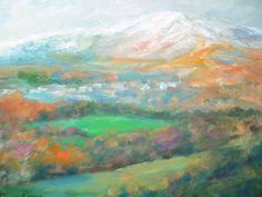 Stunning Colors Original Irish Landscape Oil Painting Listed American Beautiful! #Impressionism Irish Landscape, List Of Artists, Oil, The Originals, American, Colors, Painting, Beautiful, Ebay