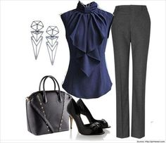 45 Beautiful Work Outfit Ideas for Women In Flats 82 Business Casual Clothes for Women Best Outfits Page 13 Of 13 Business Casualforwomen 8
