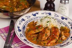 Piept de pui cu ciuperci și smântână, rețetă rapidă Lchf, Keto, Romanian Food, Food To Make, Chicken Recipes, Curry, Clean Eating, Food Porn, Cooking Recipes